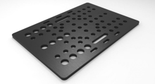 Picture of V-Slot Gantry Plate - Universal (Steel)