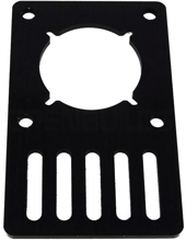 Picture of V-Slot Motor Mount Plate - NEMA 23 Stepper Motor (Aluminum)