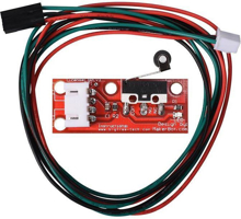 Picture of Mechanical Limit Switch with Wheels / Endstop for 3D Printers With 70 CM Cable