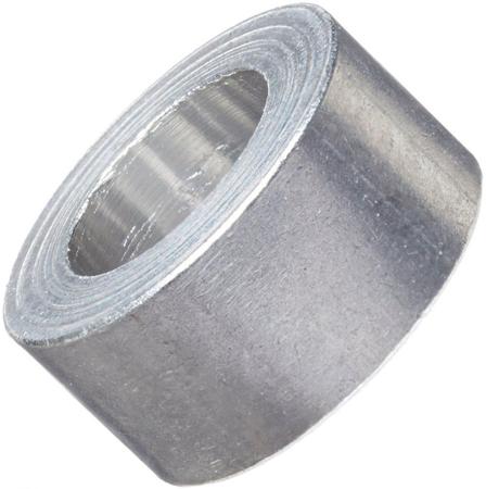 Aluminium spacer 5.1 x 10 x 6mm