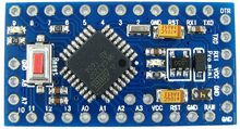 Picture of Arduino Pro Mini Microcontroller ATmega328 Development Board 5.0V 16Mhz