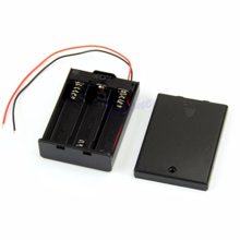 Picture of 3 x AA Battery Holder + On/Off Switch