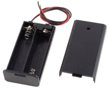 2 x AA Battery Holder + On/Off Switch Face