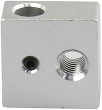 Extruder Aluminum heating block
