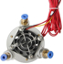 Picture of 3D Printer Multi Color 3 IN 1 Out Extruder 0.4mm / 1.75mm 12V