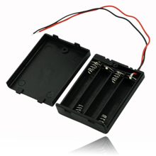 Picture of 3x AAA Battery Holder + On/Off Switch