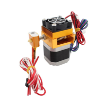 3D Printer Parts Extruder Upgrade MK8 Extruder 3D Printer Bowden Extruder Nozzle 0.4mm Feed Inlet Diameter 1.75 Filament