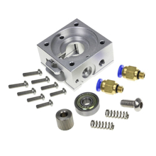 Picture of 3D Printer Accessories reprap bulldog Extruder Parts Remote Proximity Full Metal E3D Jhead
