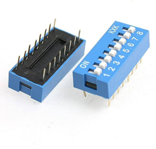 8 Position DIP Switch 2.54mm
