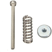 Picture of 3D PRINTER BED LEVELING M3 SCREW WITH SPRING AND HAND KNOB