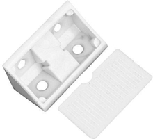 Plastic Corner Angle Brackets 90 Degree (Package:10)