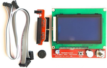 LCD 128x64 Smart LCD Controller with SD Card interface