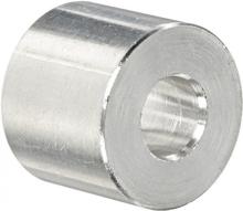 Aluminium spacer 5.1 x 10 x 13.2mm