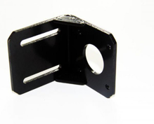 Steel Material L MountingBracket Fixed Holder Mountwith Screw for 42 seriesNEMA17 Stepper Motor Side