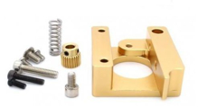 Picture of 3D PRINTER MK8 EXTRUDER ALUMINUM FRAME BLOCK DIY KIT