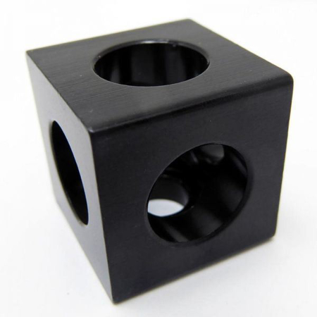 Cube Corner Connector Top Front Side