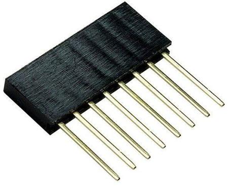8 Pin Female tall Header Connector socket