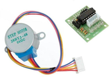 Picture of 5V 4-Phase 28BYJ-48 Stepper Motor + ULN2003 Driver Board