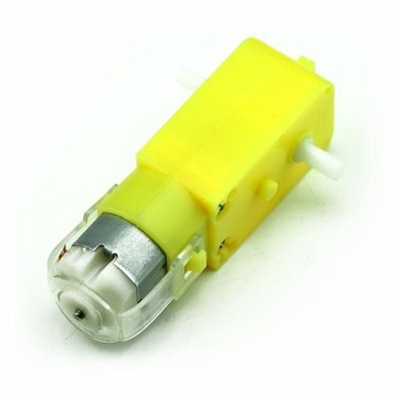 Picture of DC Geared Motors for Robots Straight Shaft