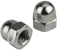 M8 Acorn / Cap Nuts - Pack 20
