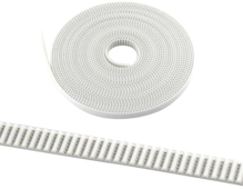1Meter GT2 Timing Belt White PU With Steel Core 2GT-6MM GT2 Open Timing Belt for 3D Printer RepRap Prusa