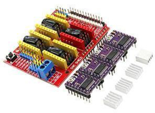 Picture of CNC control board Shield + 4 PCS DRV8825 Driver Expansion Board for Aduino