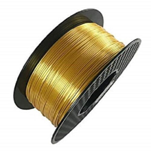 Picture of 3D Printing Filament PLA 1.75 mm Yellow Brass 1KG