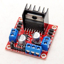 Picture of Dual H Bridge DC Stepper Motor Controller L298N Module for Arduino / Due and Raspberry Pi