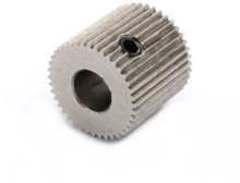 MK8 Stainless Steel Extruder Drive Gear 5mm Shaft 40 teeth