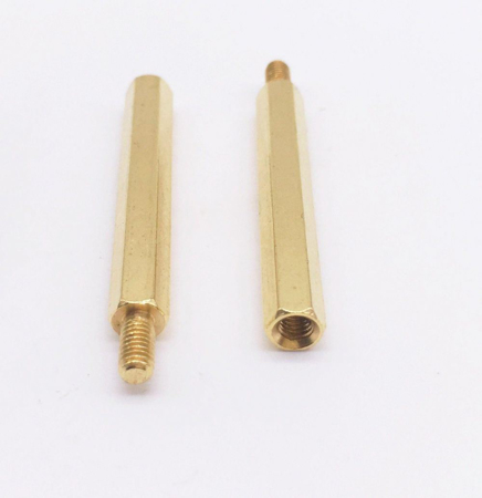 Picture of M3 Copper Spacer 25mm F/M (10 PCS)