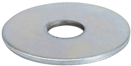 Light Metal Nut Washer 3mm - Pack 50