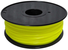 3D PRINTER ABS FILAMENT - Yellow- 1.75mm 1KG