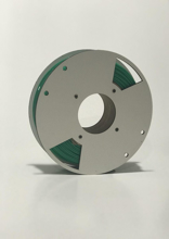 Picture of 3D Printer Rubber Filament - Green - 1.75 mm 250g