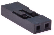 Picture of PH-14 (2 Pin 0.100 inch Header Crimp Connector Housing-Single Row)