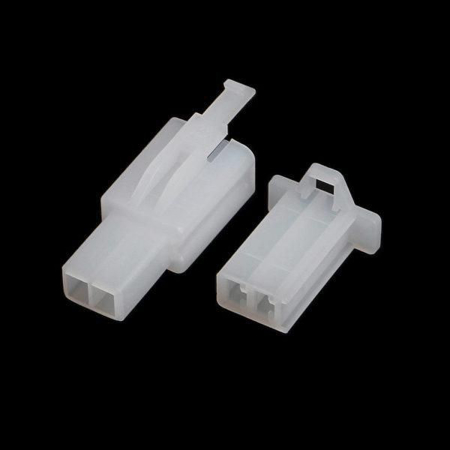 2 PIN - 2.8mm Connector Male & Female With Terminal