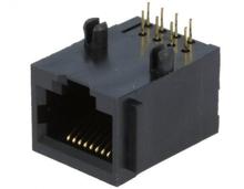 RJ45 - 8pin on PCB Plastic