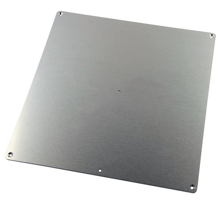 Aluminum Heated Bed Build Plate 250x250mm