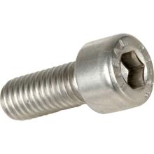 M3x8mm High Tensile Socket Head Screws (White) - Pack 50