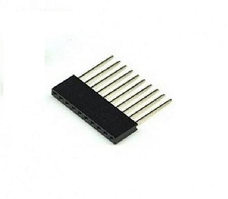 10 Pin Female Tall Header Connector Socket