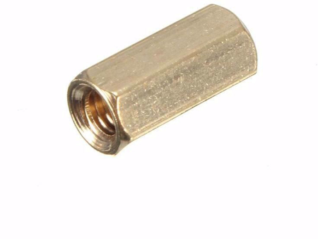 Picture of M3 Copper Spacer 10mm F/F (10 PCS)