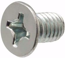 M4x6mm Phillips Flat Head Machine Screws - Pack 50