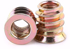 M8 Hex Furniture Nut For Wood - Pack 50