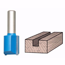 Picture of Router Drill Bits D: 18mm H: 20mm Shank: 8