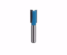 Router Drill Bit D: 10mm H: 20mm Shank: 8 Front