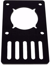 Picture of V-Slot Motor Mount Plate - NEMA 23 Stepper Motor (Acrylic)