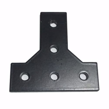 Picture of T Joining Plate Flat  Curved  (Steel)