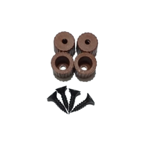 Picture of Plastic Brown Legs For 3D Printer - 4 PCS