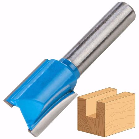 Router Drill Bit D: 12mm H: 30mm Shank: 6