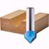 Router Drill Bit D: 22mm H: 22mm Shank: 12 Up