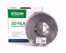 Picture of ESUN 3D PRINTER PLA FILAMENT -Silver- 1.75mm 1KG